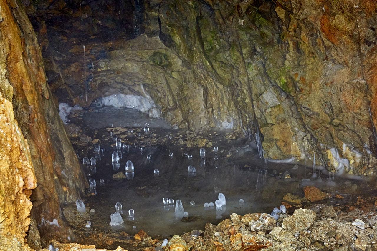 В штольне шахты рудника «Урчан».