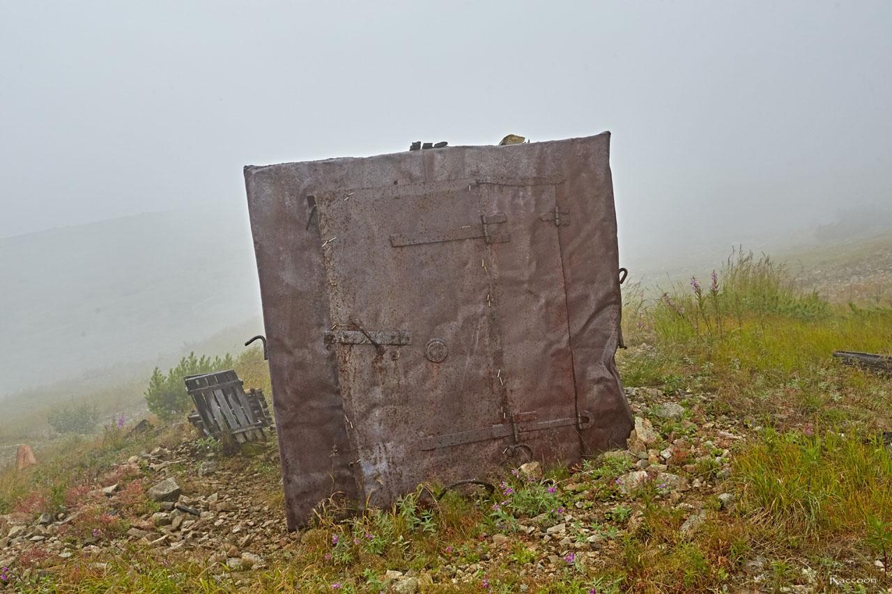 Склад старателей на Урчанском перевале. 2018 год.