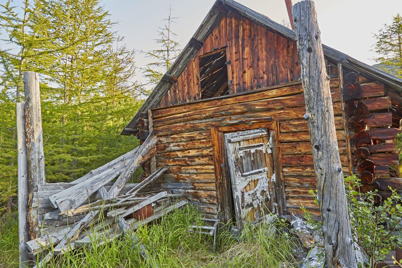 Уцелевший жилой дом на ручье Бедном. Урчан. 2019 год.
