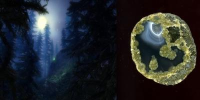 Moonlight. Агат, Ольское плато.