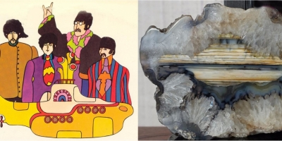 Yellow Submarine. Агат, оникс, р. Рывеем (Чукотка).