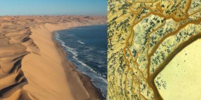 В пустыне Намиб. Аушкульская яшма, Башкирия.
