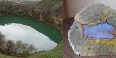 Горное озеро. Агат, Забайкалье.