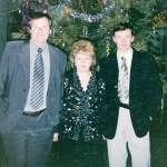 С супругой Гулико и сыном Дмитрием