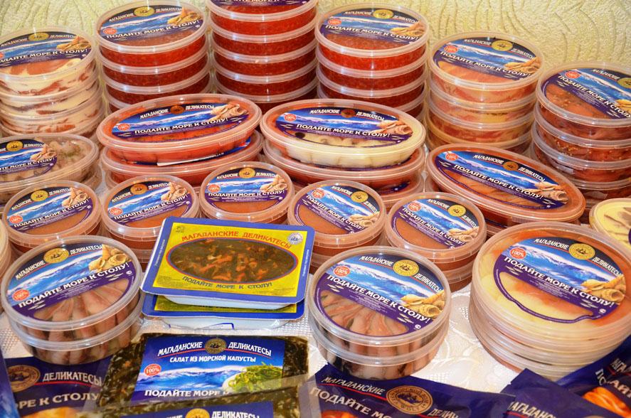 Дары моря. Магаданские деликатесы.