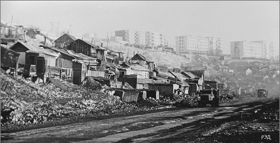 Район Каменного карьера. 1986 год. Автор фото Р. Дубровский.