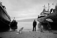 Рыбный порт, Магадан. 2014
