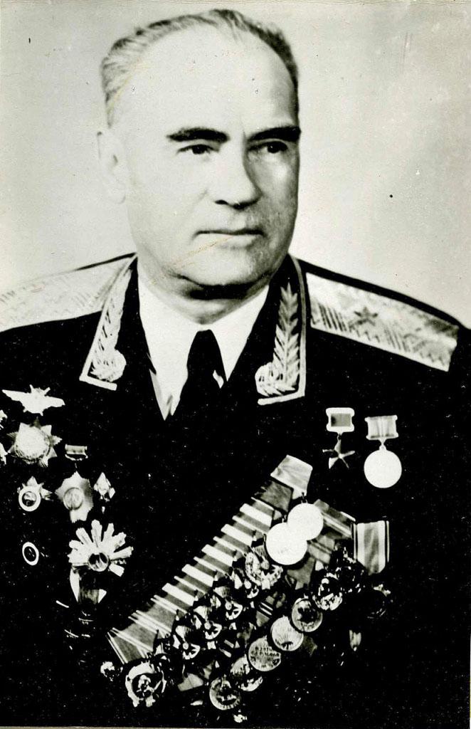 Генерал-лейтенант в отставке Михаил Григорьевич Мачин