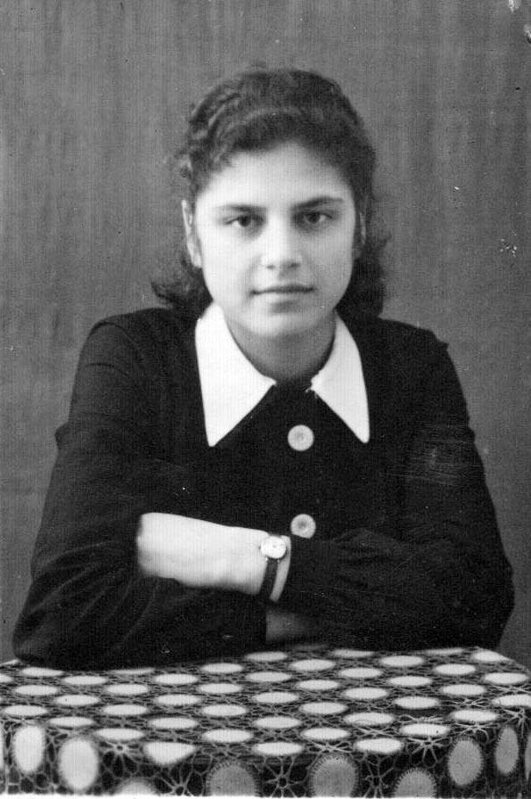Наталья Хаютина. Ремесленное училище. 1949 год.