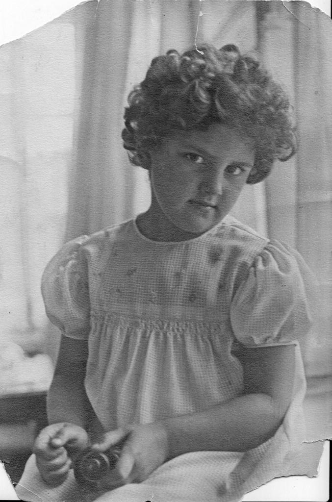 Наталья Хаютина. 1939 год.