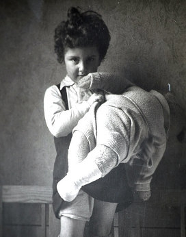 Наталья Хаютина. Детские годы.