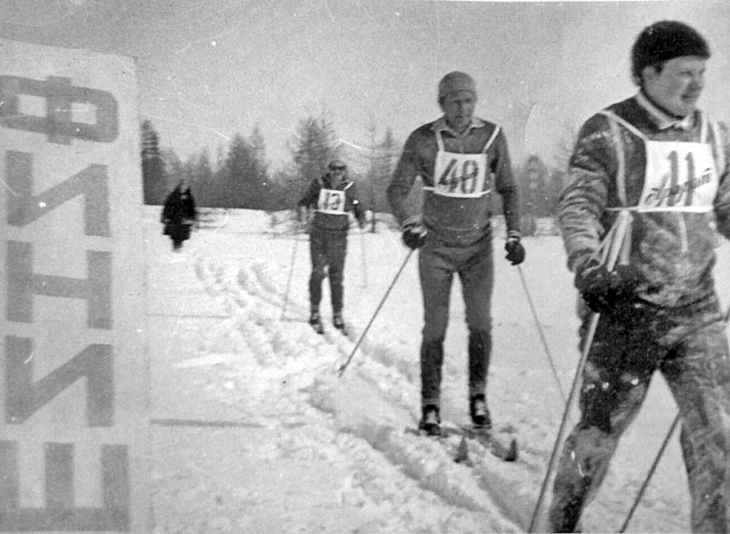 Арарат. Лыжные соревнования.