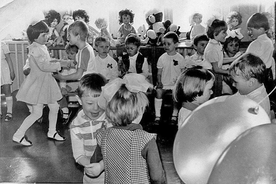 Посёлок Арарат. В детском саду «Оленёнок».