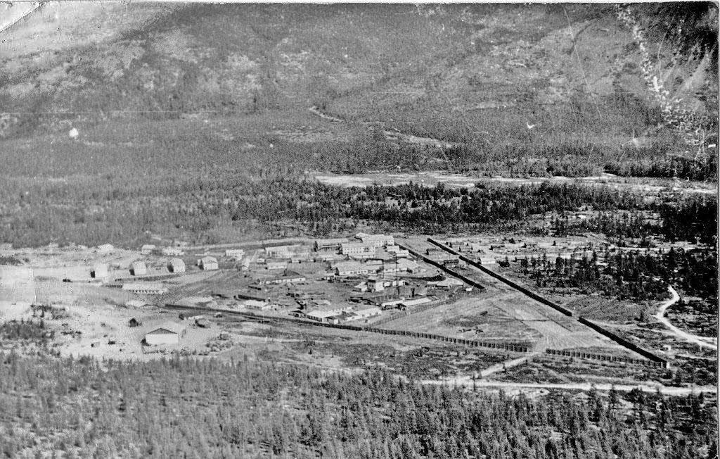 Арарат. Вид на ЛПТ-1 с сопки. 1976 год. Фото из архива Юсупова Мусаляма Саубановича.