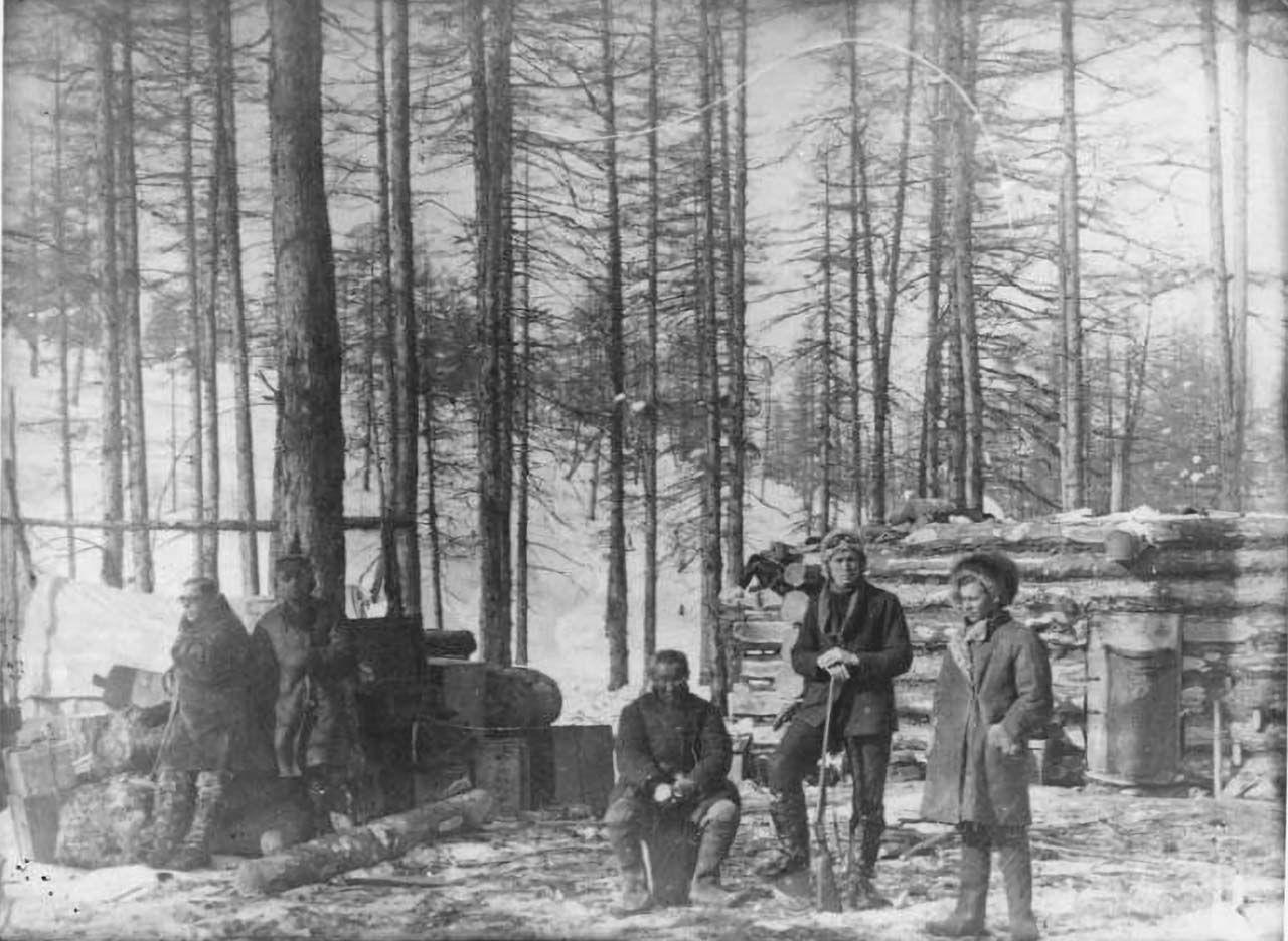 Эликчан, экспедиция КГРЭ. 20.03.1931 года.