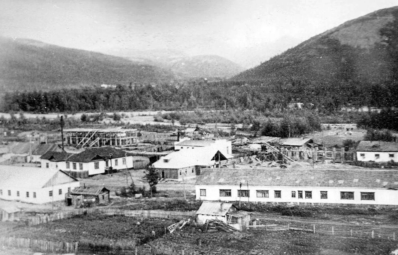 Центр Хасына. 1958 год.