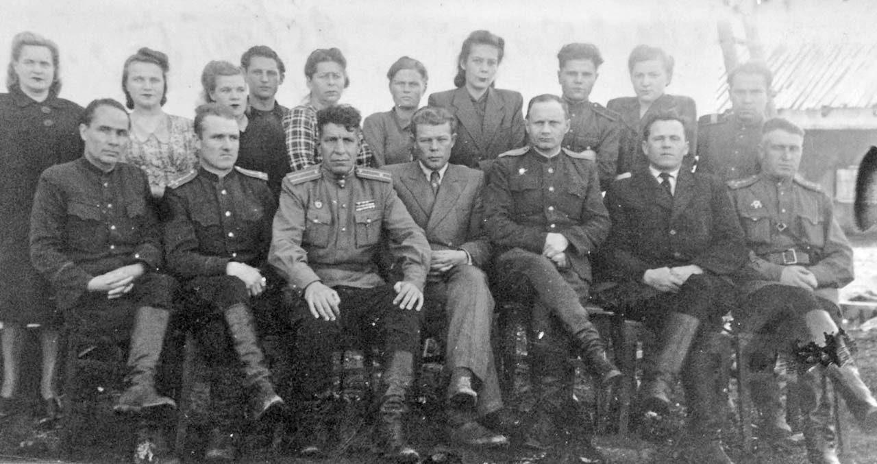 Посёлок Мякит. Управление Транслага. 50-е годы ХХ-го века.