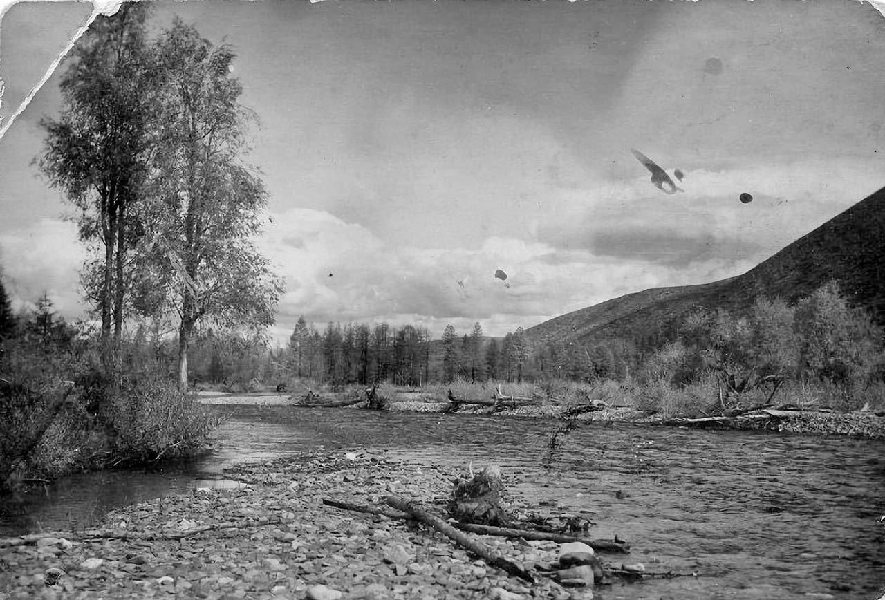 Долина реки Мякит. 1933 год.