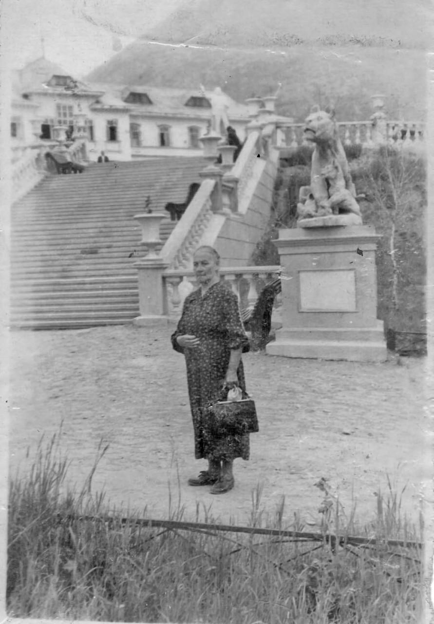 Мария Орлова. Санаторий Талая. Середина 50-х годов. Из архива Татьяны Волковой.