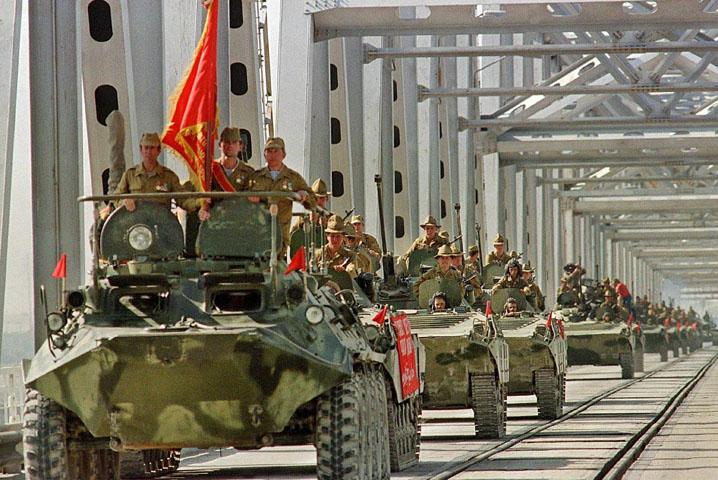 Вывод 40 армии из Афганистана