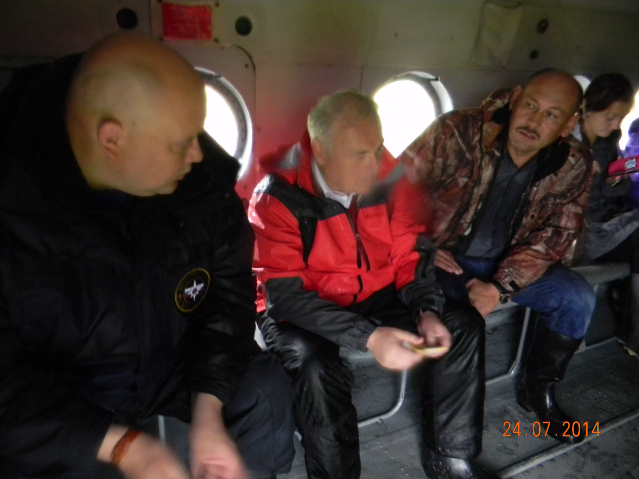 Губернатор магаданской области В. Печёный и зам Б. Журавлев.