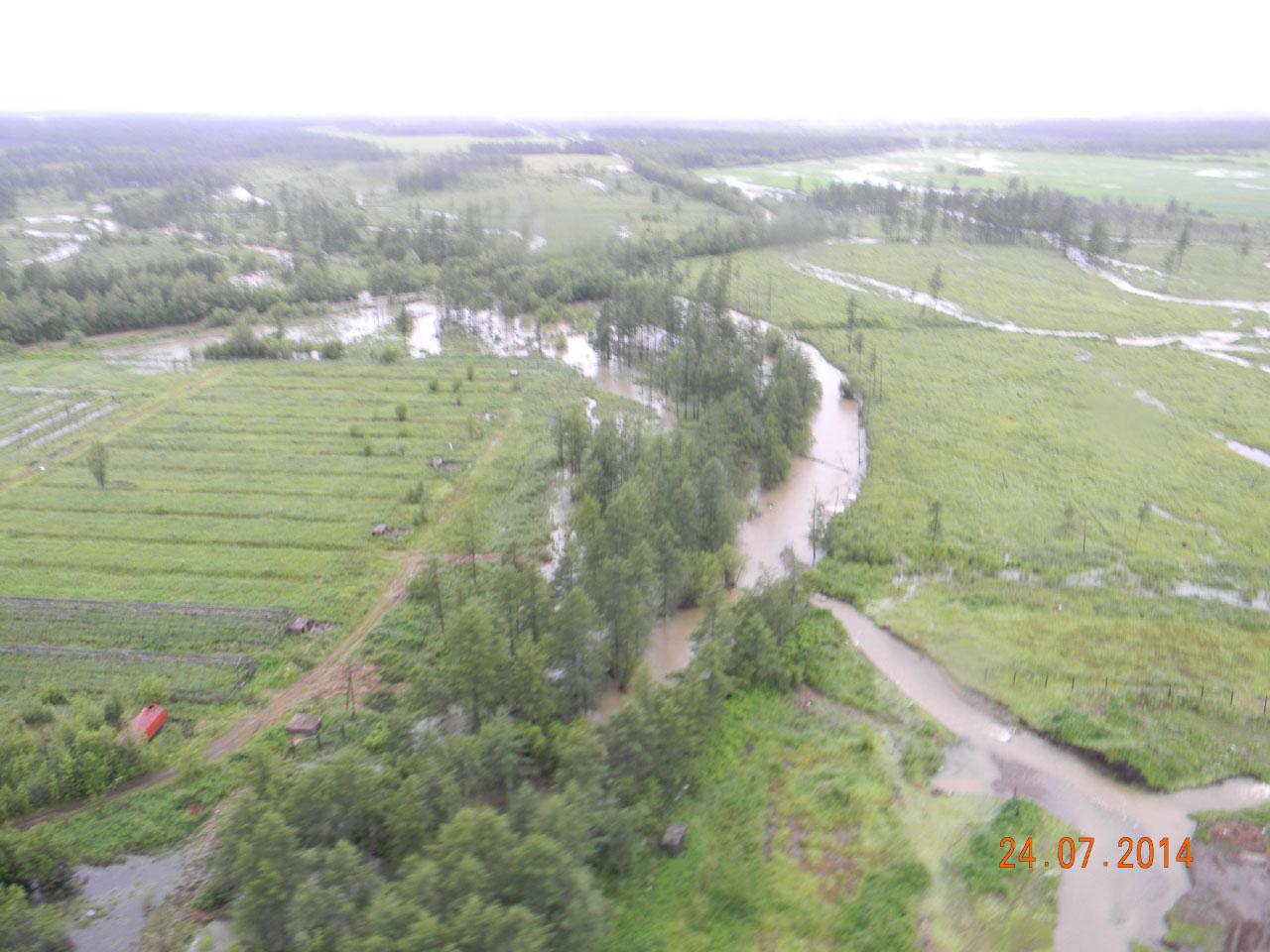 По пути на Клёпку. Наводнение.