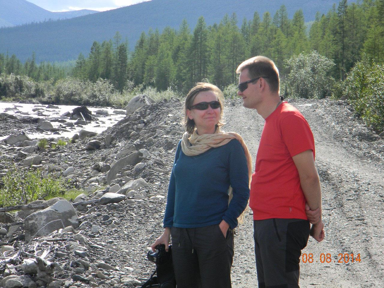 Агнешка Зинтарски и Витек Дрыгальски.