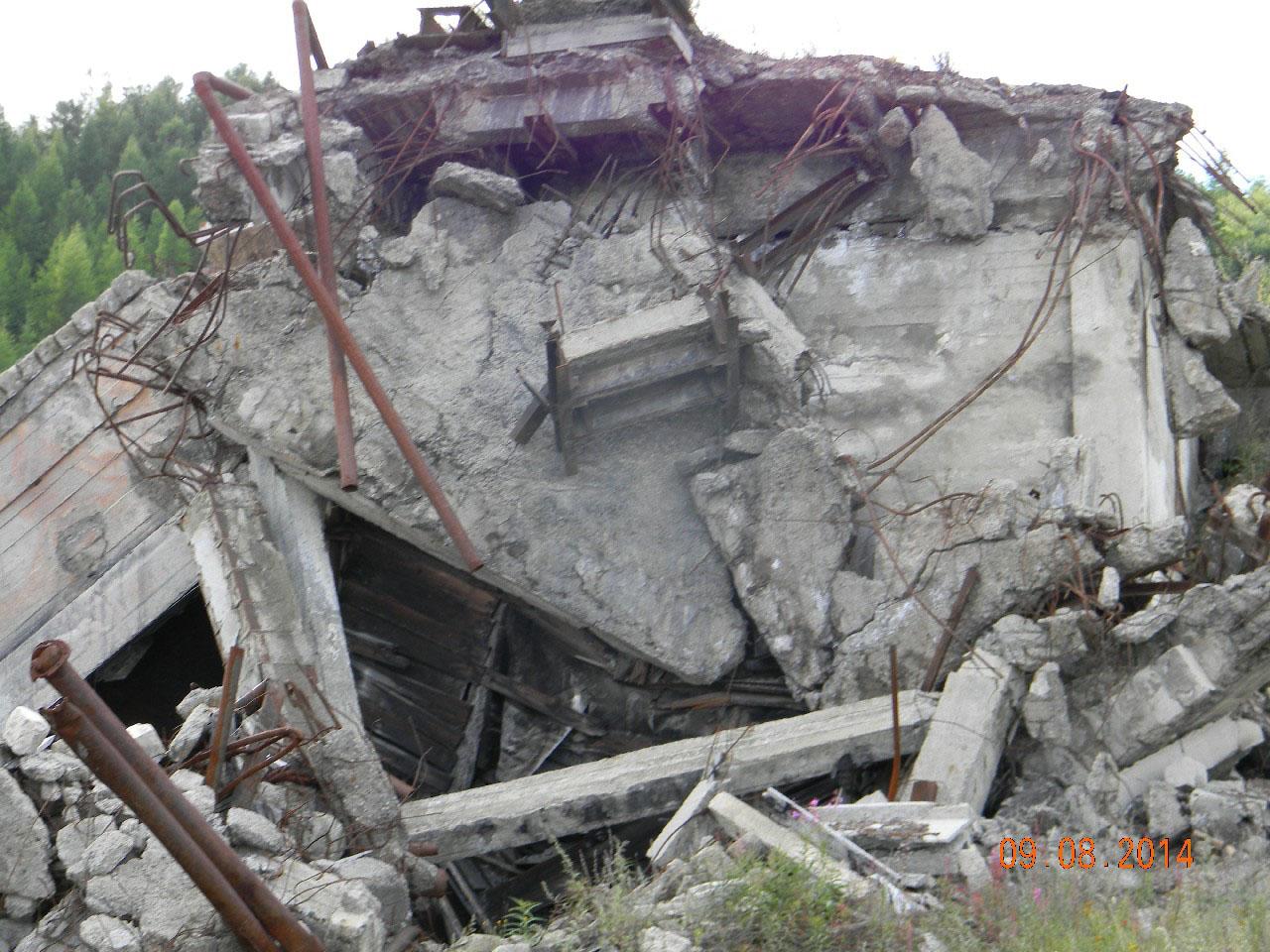 Вход в кадыкчанскую шахту.
