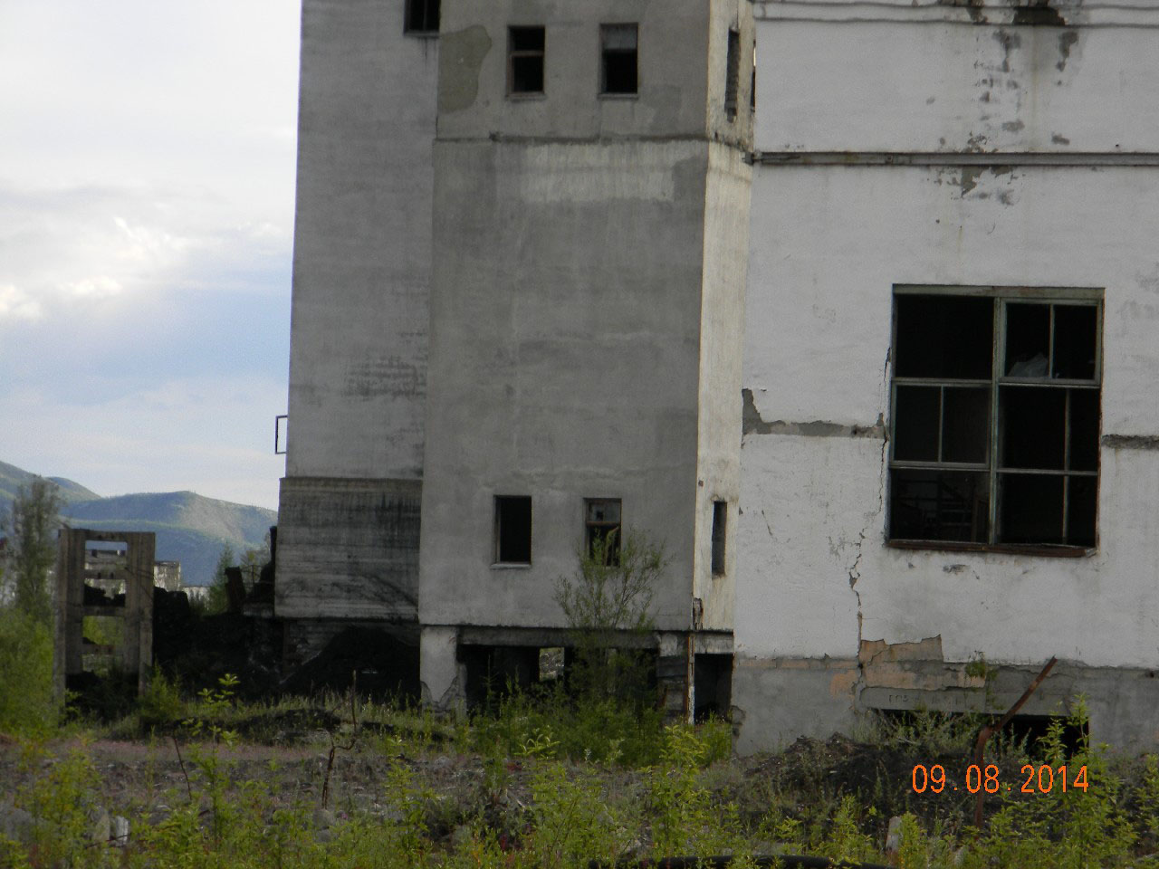 Заброшенная шахта кадыкчанская.