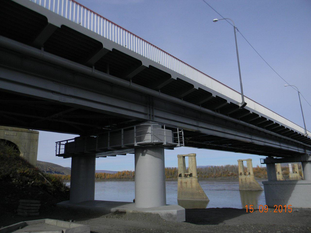 Быки от старого моста оставили, дескать, сами со временем разрушаться...