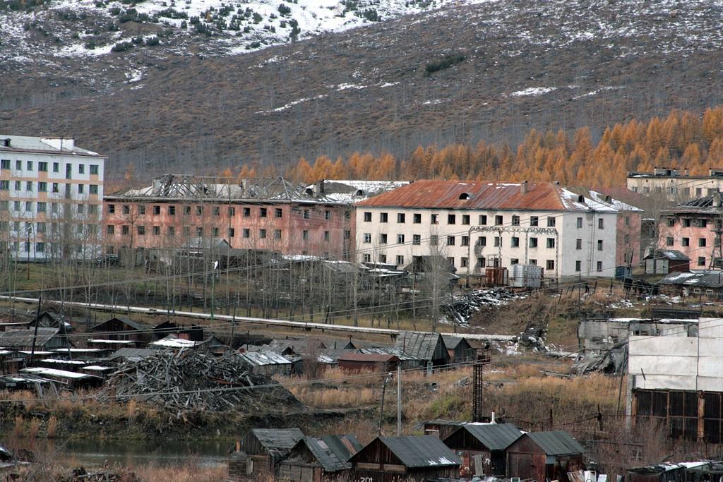 Поселок Оротукан. 2014 год.