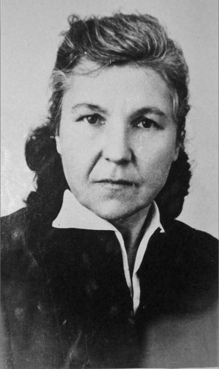 Капленкова Варвара Кононовна. Фото предоставлено Геннадием Капленковым.