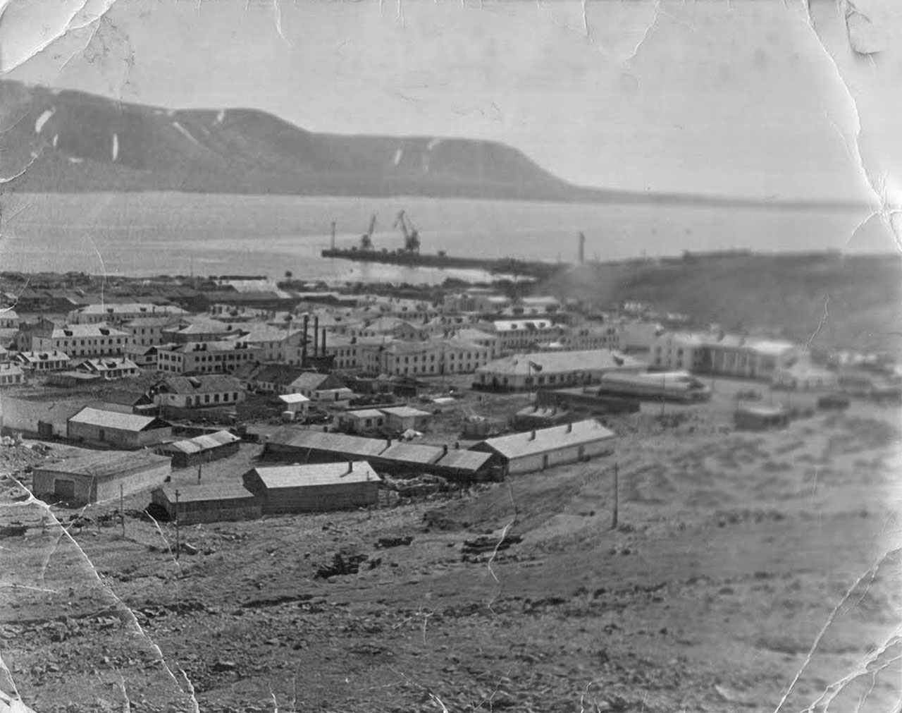 Посёлок Эгвекинот. 1969 год.