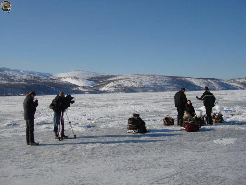 Съёмка первого погружения вторым каналом на на «Выборг».