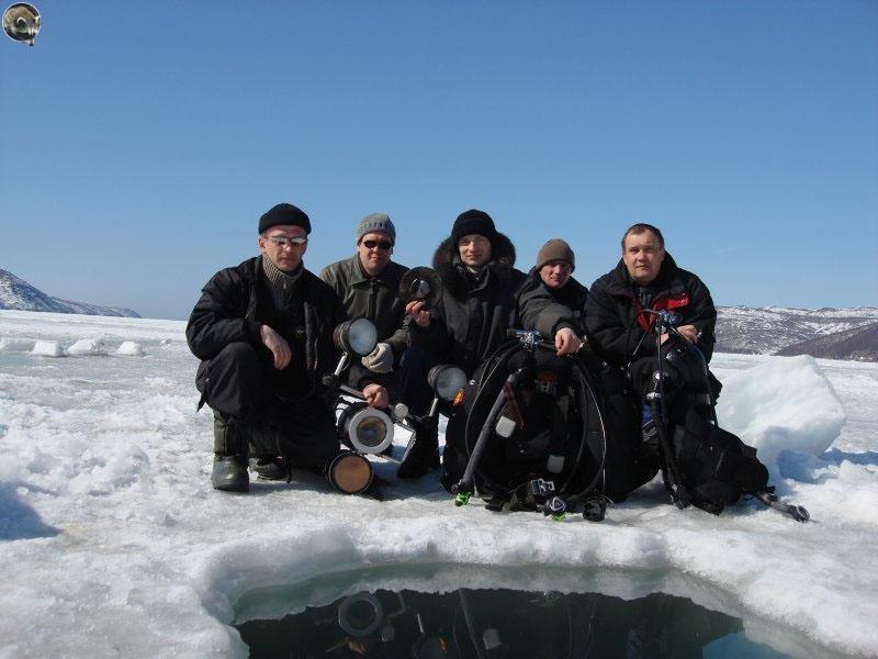 Первая экспедиция на «Выборг».