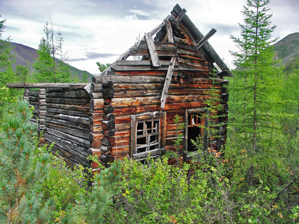 Предположительно дом директора рудника. Из архива Андрея Лисицкого.