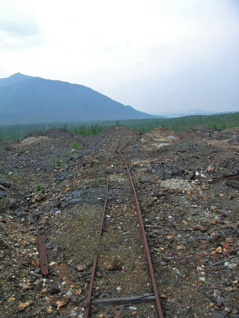 Технологическая узкоколейная железная дорога.Из архива Андрея Лисицкого.