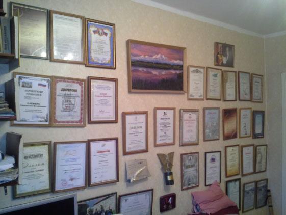 Награды и дипломы Станислава Олефира