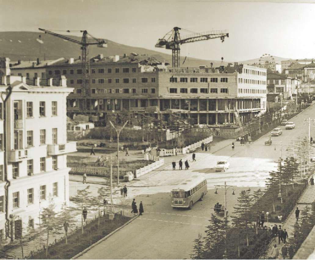 Магадан, 1965 год.