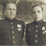 Магадан 1945 год, первый справа И. И. Лукин.