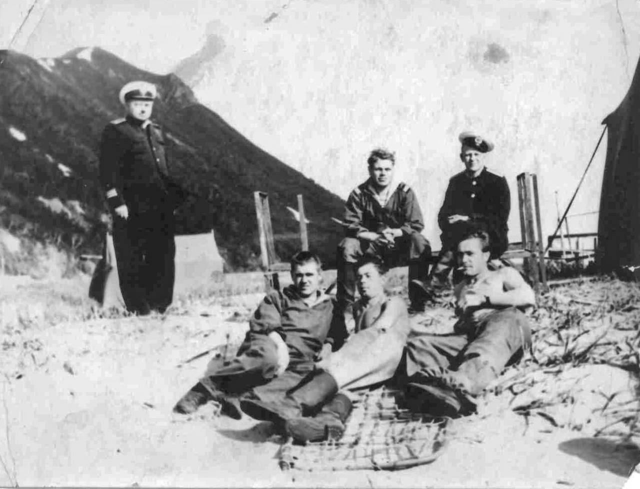 Члены 2-й Тихоокеанской гидрографической экспедиции.