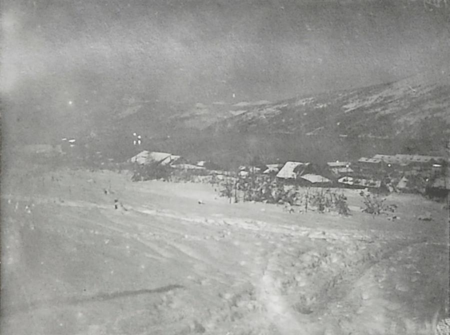 Зима в бухте Нагаева. Ноябрь 1932 года.