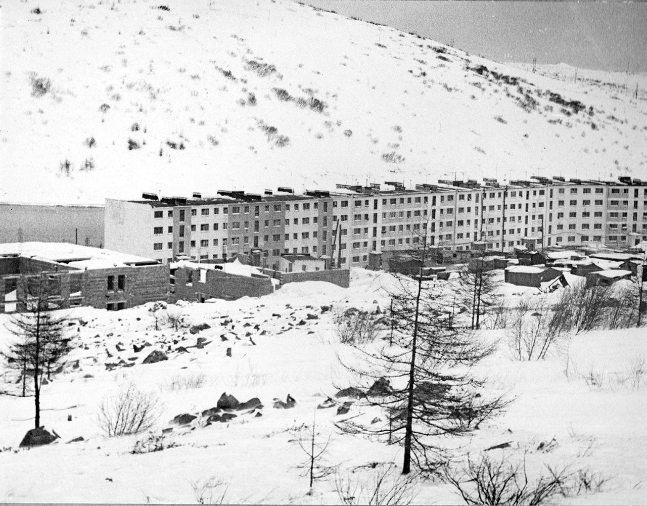 Посёлок Пионерный. 1981 год.