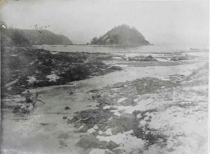Устье ручья Весёлого. 1932 год.