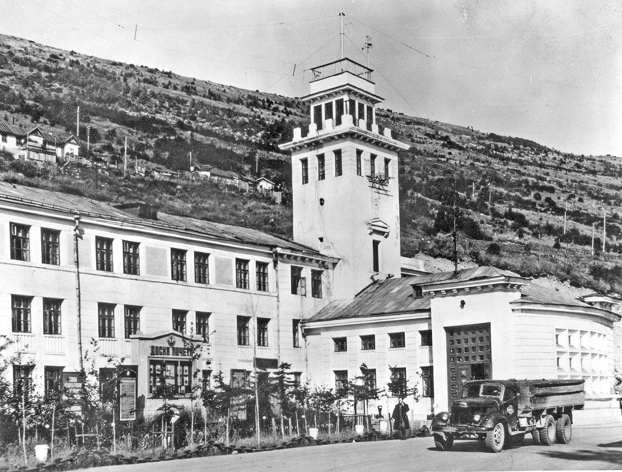 Здание Управления магаданского пароходства. 1960 год.