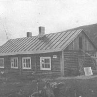 Здание Восточно – Эвенской (Нагаевской) культбазы,1930 г.