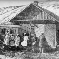 Здание «скорой помощи» 1930-е годы.