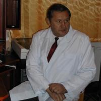 На снимке: А.В. Положиев