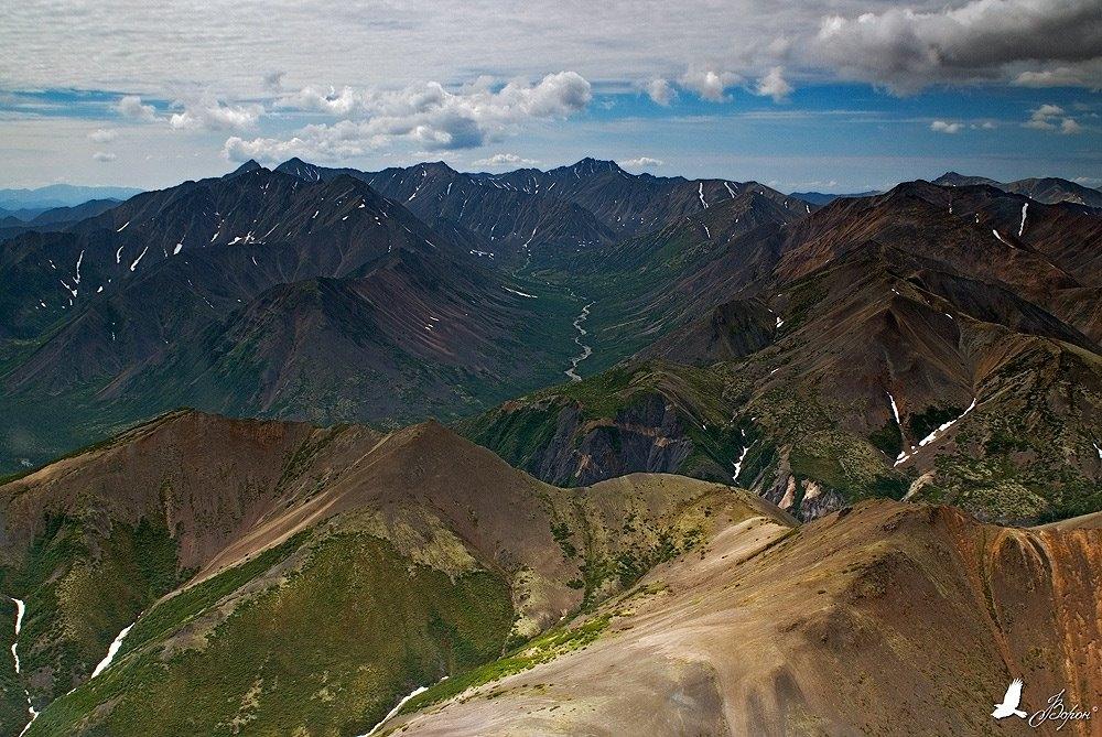 Ягоднинский район. Горы. Фото Алексея Ворона.