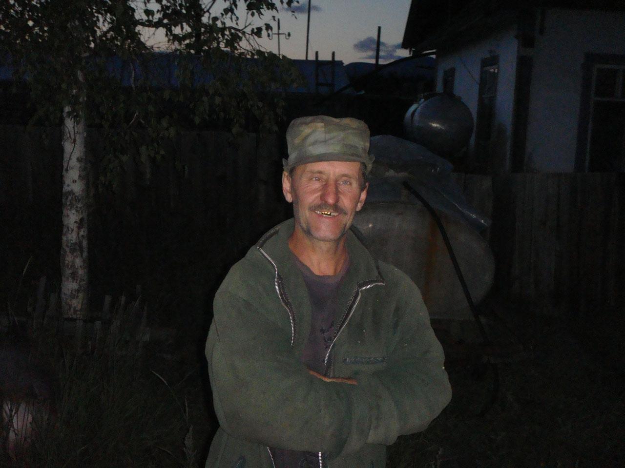 В.А. Цветков, с. Таскан, 2010 год.